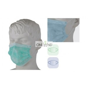 Surgical mask with elastic