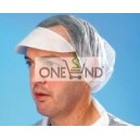 PP cap with visor, disposable
