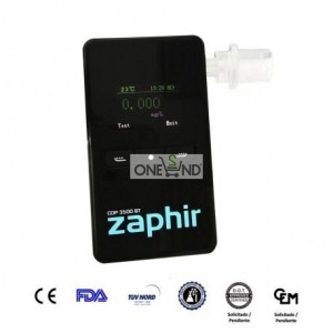 Alcoholímetro Zaphir CDP 3500, with - Bluetooth